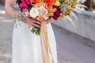 Summer wedding bouquet, vibrant wedding bouquet #bouquet #weddingbouquets