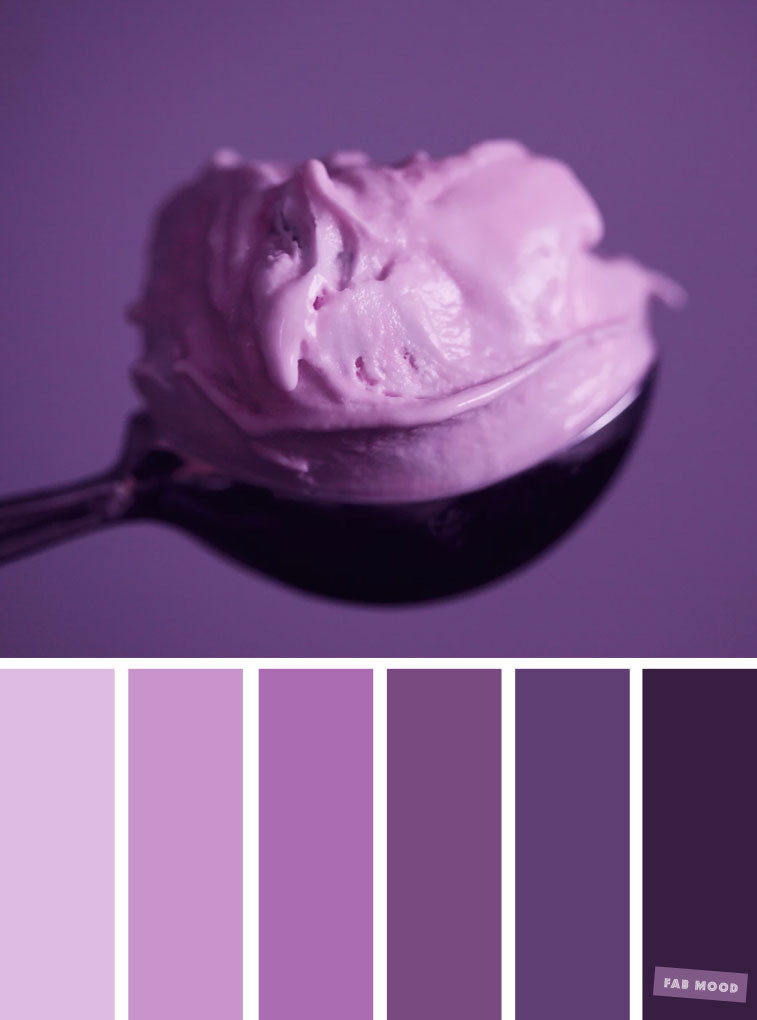 Lavender Hues - Lavender purple tones : Pretty lavender color scheme ,lavender color combinations #purple #color #colorpalette