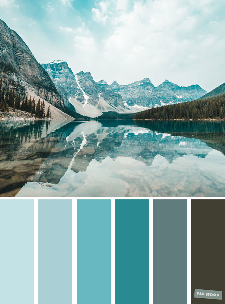 10 Kitchen And Home Decor Items Every 20 Something Needs: Color Palette : Teal Hue, Grey And Teal Color Scheme