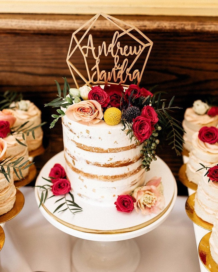 29 Beautiful Wedding Cake With Roses Decoration Wedding Cakes