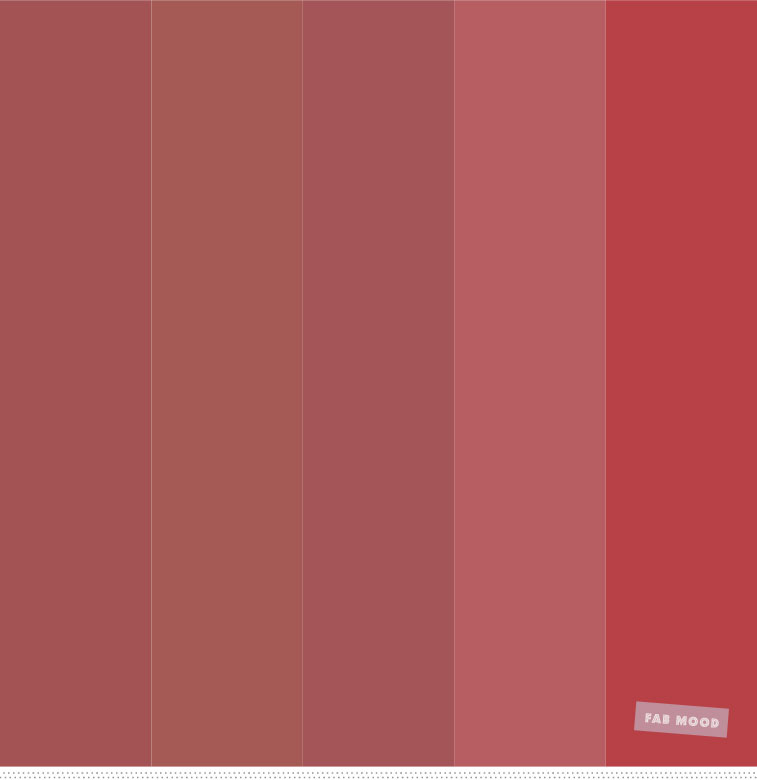 Color Inspiration Wine Red Palette