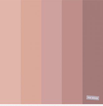 Nude color palette : color scheme #colorpalette #colorinspiration #nude