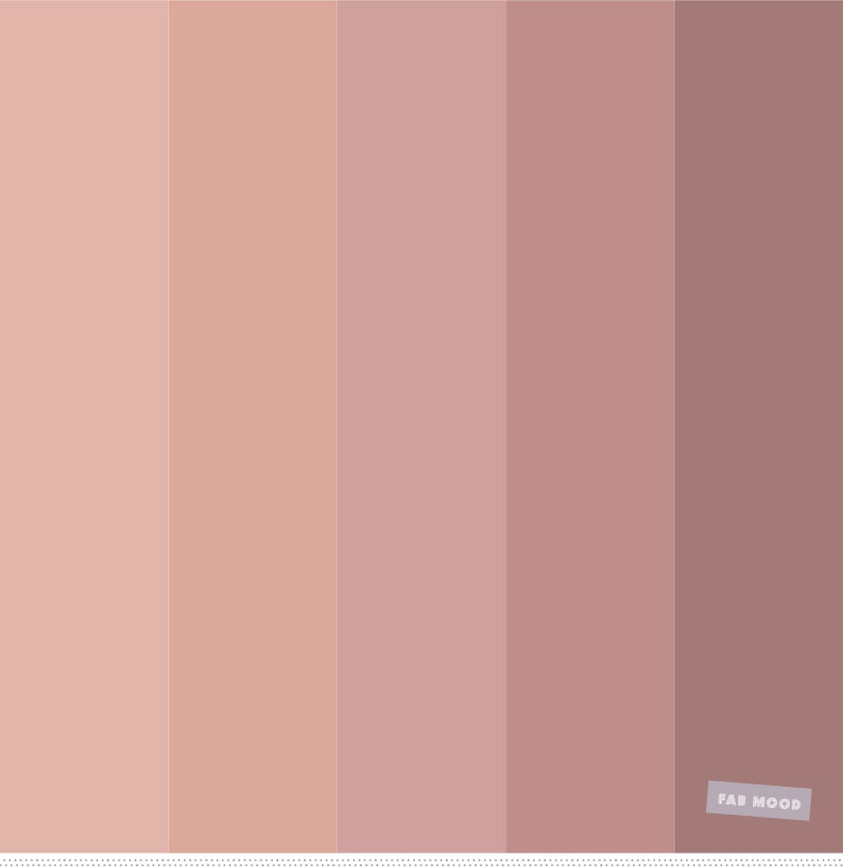 Nude color palette inspiration