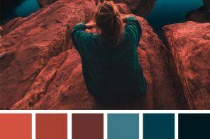 Emerald Teal and Terracotta Color Scheme : Color inspiration #colorpalette #pantone #fabmood #color