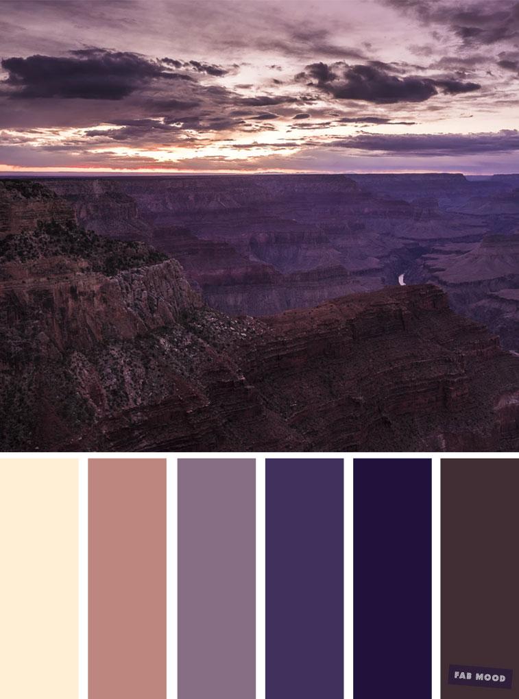 Sunset Inspired Colour Palette