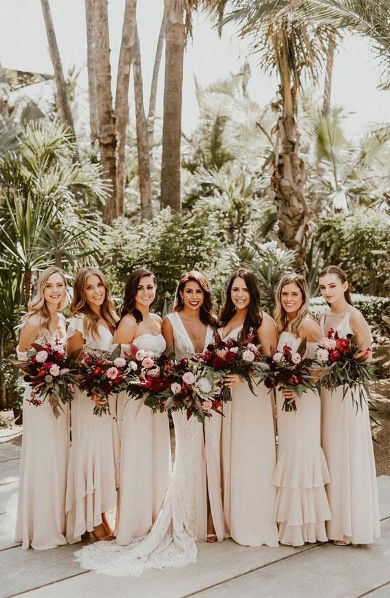 neutral bridesmaid dresses, neutral wedding , neutral bridesmaid dress