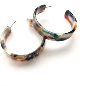 multicoloured-hoop-earrings