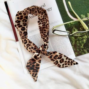 Animal Print Bandana Scarves,Leopard print bandanna neckerchief,leopard print scarf,bandanna,neckerchief