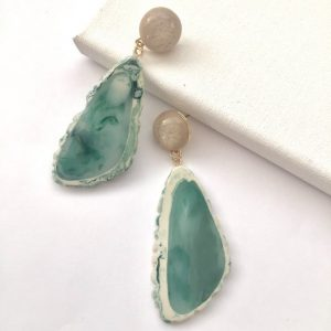 earrings,unique irregular-shaped earrings, earring #earrings
