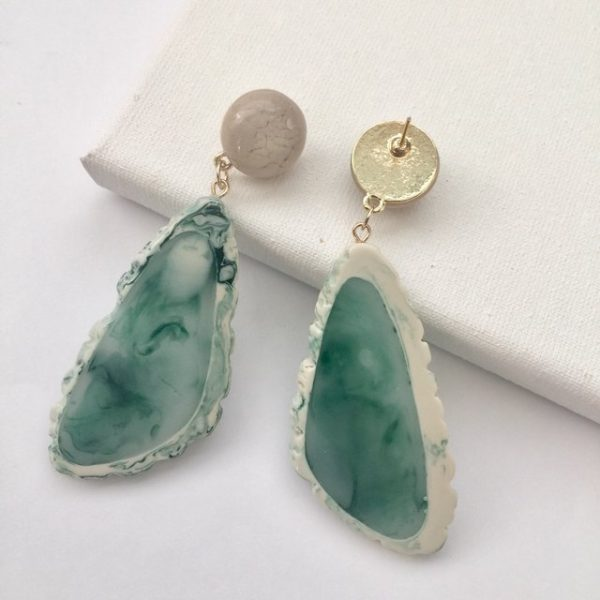 earrings,unique irregular-shaped earrings, earring #earrings