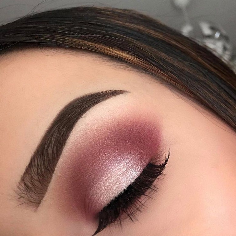 Gorgeous eye makeup rose gold #eyemakeup #eyeshadow
