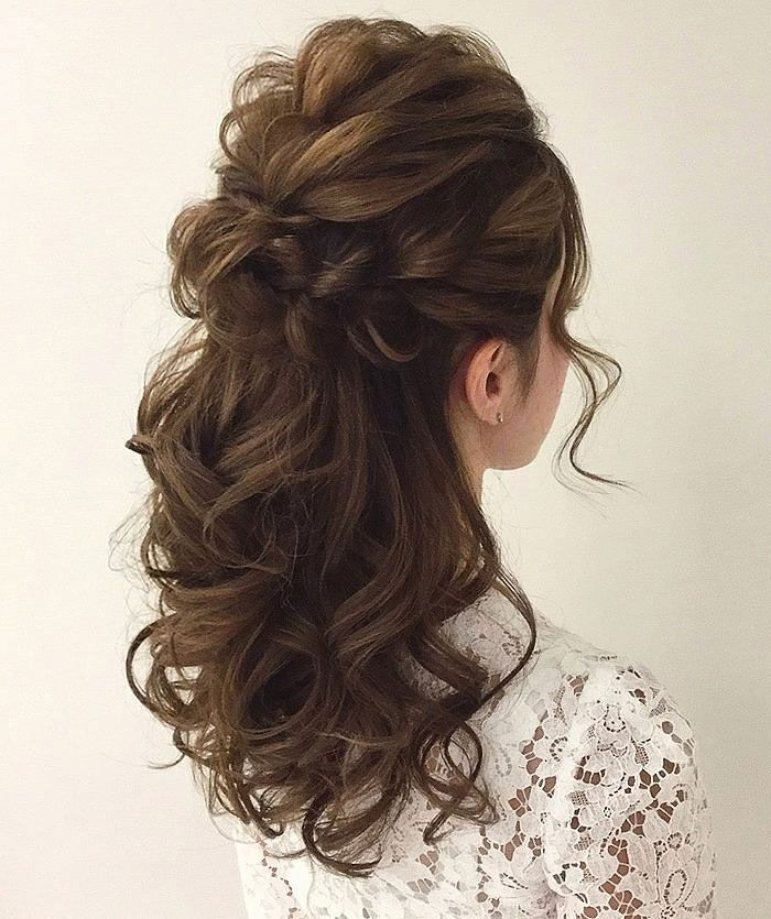 half up half down curly hairstyles , half up half down hairstyles wedding,casual half up half down hairstyles