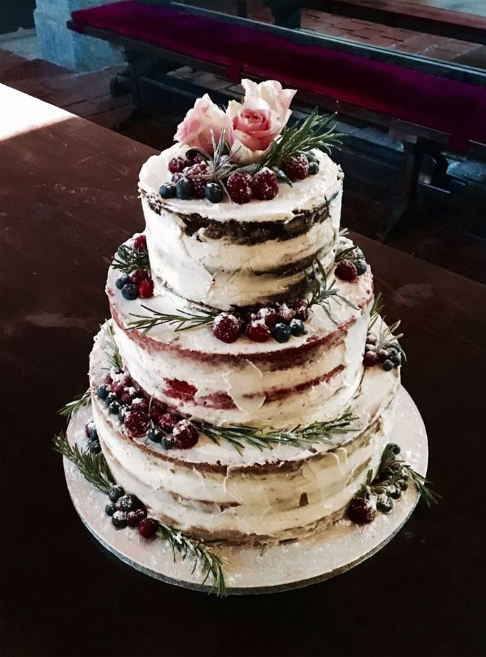 The perfect autumn wedding cake ideas