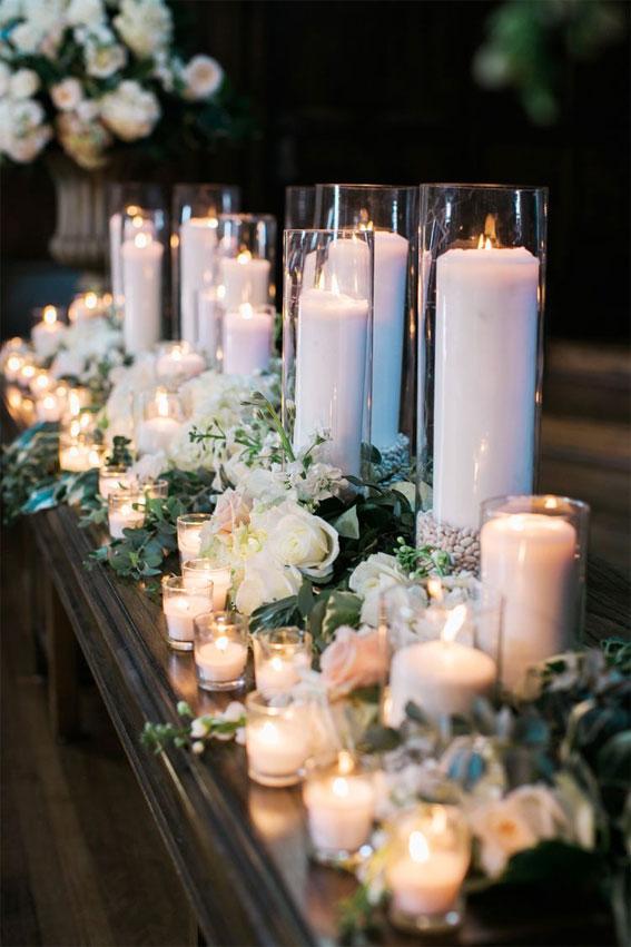 35 Creative Ways To Dress Up Your Wedding With Candles