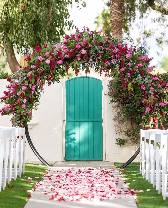 48 Beautiful Wedding Ceremony Décor That'll Take Your Wedding to the Next Level - wedding ceremony backdrop #wedding #wedingdecor wedding decorations #ceremony