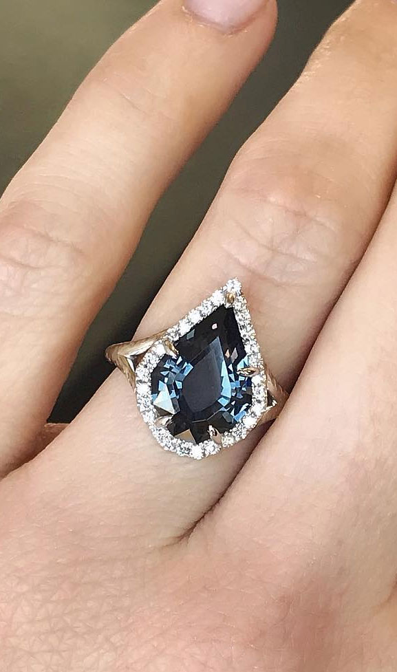 35 Engagement Rings That Are Incredibly Trendy - Solitaire engagement ring, oval engagement ring #engagementring