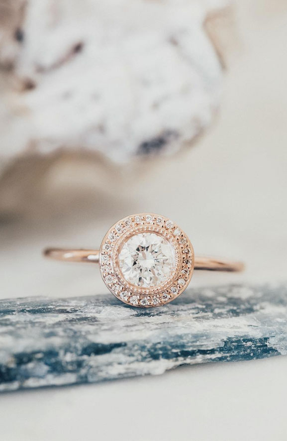 35 Engagement Rings That Are Incredibly Trendy - Solitaire engagement ring, emerald cut engagement ring #engagementring