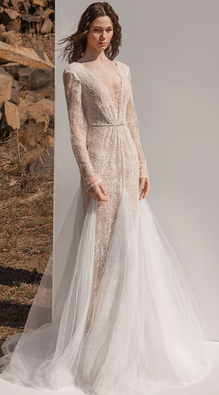 "Eva Lendel Wedding Dresses ""Pure Essence"" 2019 Collection"