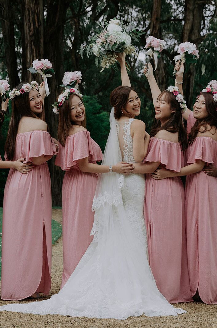 Intimate Wedding With A Touch Of A Moody Palette For A Destination Wedding