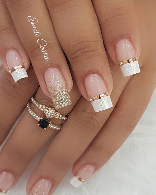 100 Beautiful wedding nail art ideas for your big day 1 ...
