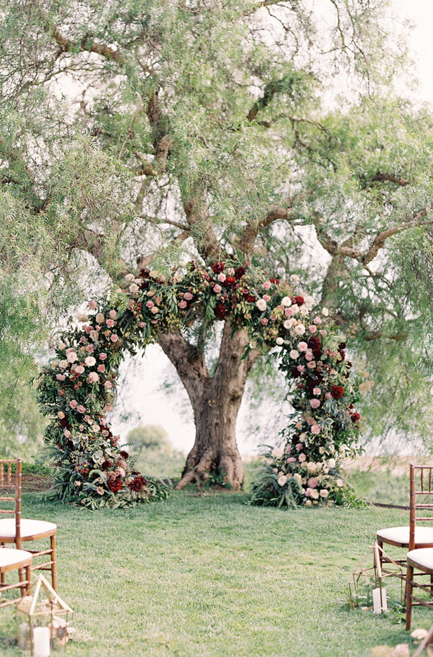 27 Beautiful Flower Wedding Arches To Swoon Over | Wedding Arbor flowers #weddingdecor #weddingarch #floralarch #weddingceremony decorations