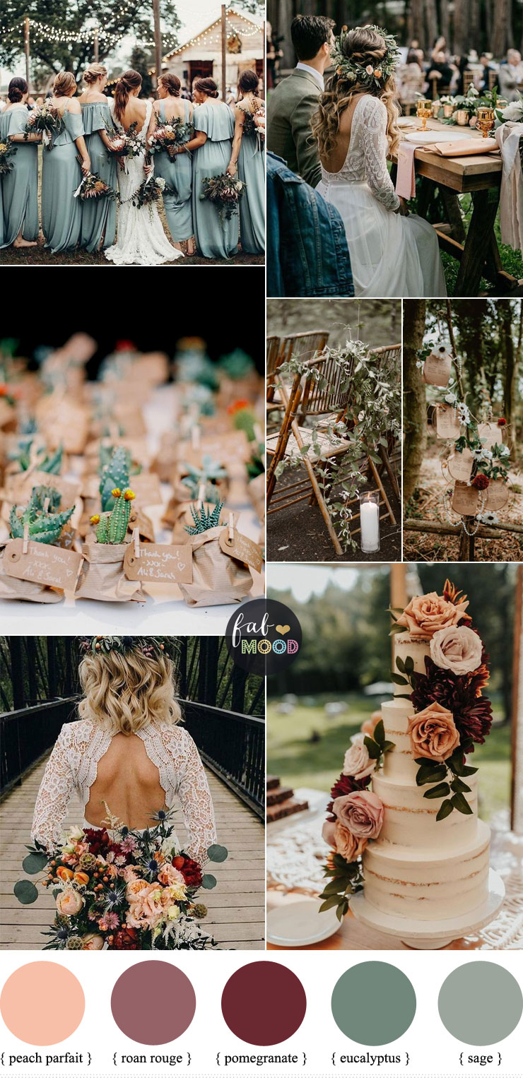 Sage green wedding colour for down to earth wedding - Autumn wedding #summer #colour #color #pantone #sage #green