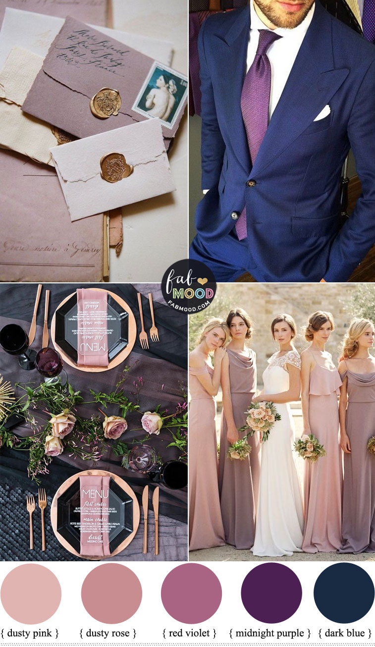 7 Beautiful Autumn Wedding Color Combos 2019