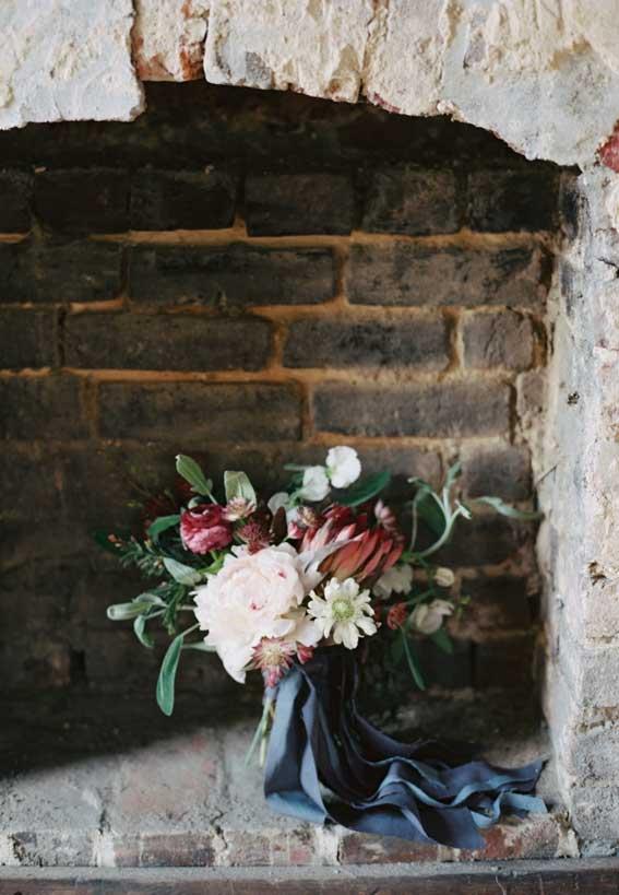 fall wedding bouquet, autumn wedding bouquet