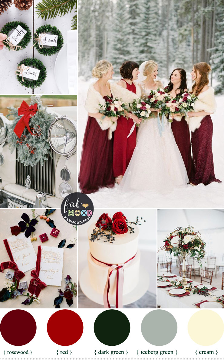 Winter Wedding Color 2019 Palettes { Shades Of Winter Season }