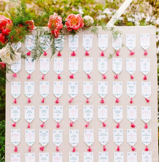 escort card displays , creative wedding escort cards , summer wedding seating ideas, wedding escort card ideas , wedding ideas, escort cards , fun escort card ideas