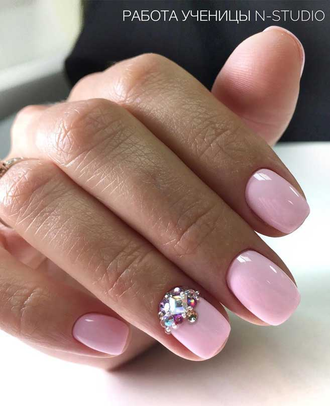 Light pink long nails for wedding , cotton candy pink nail designs, nail art designs, wedding nail art, wedding nails, bridal nails, wedding nail designs 2019, wedding nails 2019, wedding nails bride, wedding nails natural, wedding nails with glitter