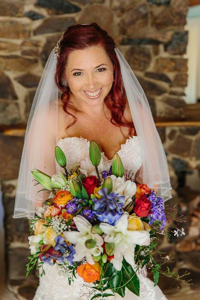 beautiful bridal bouquet, colorful bridal bouquet, wedding bouquet, diy wedding bouquet, colorful wedding bouquet, bold bridal bouquet, autumn bridal bouquet