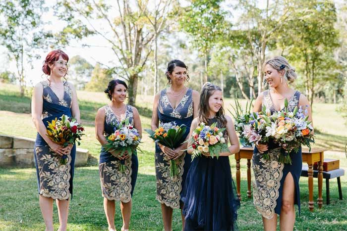 navy blue short bridesmaid dresses