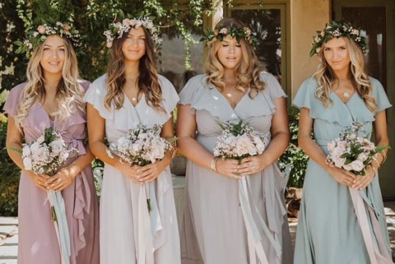mismatched bridesmaid dresses, spring bridesmaid dresses , bridesmaid dresses 2020
