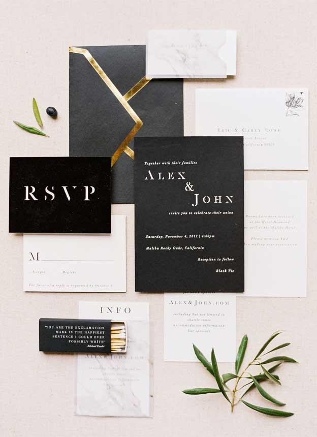 black wedding invitations , black wedding invites #blackwedding #weddinginvites