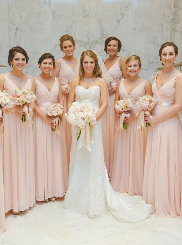 blush pink bridesmaids , blush bridesmaid dresses