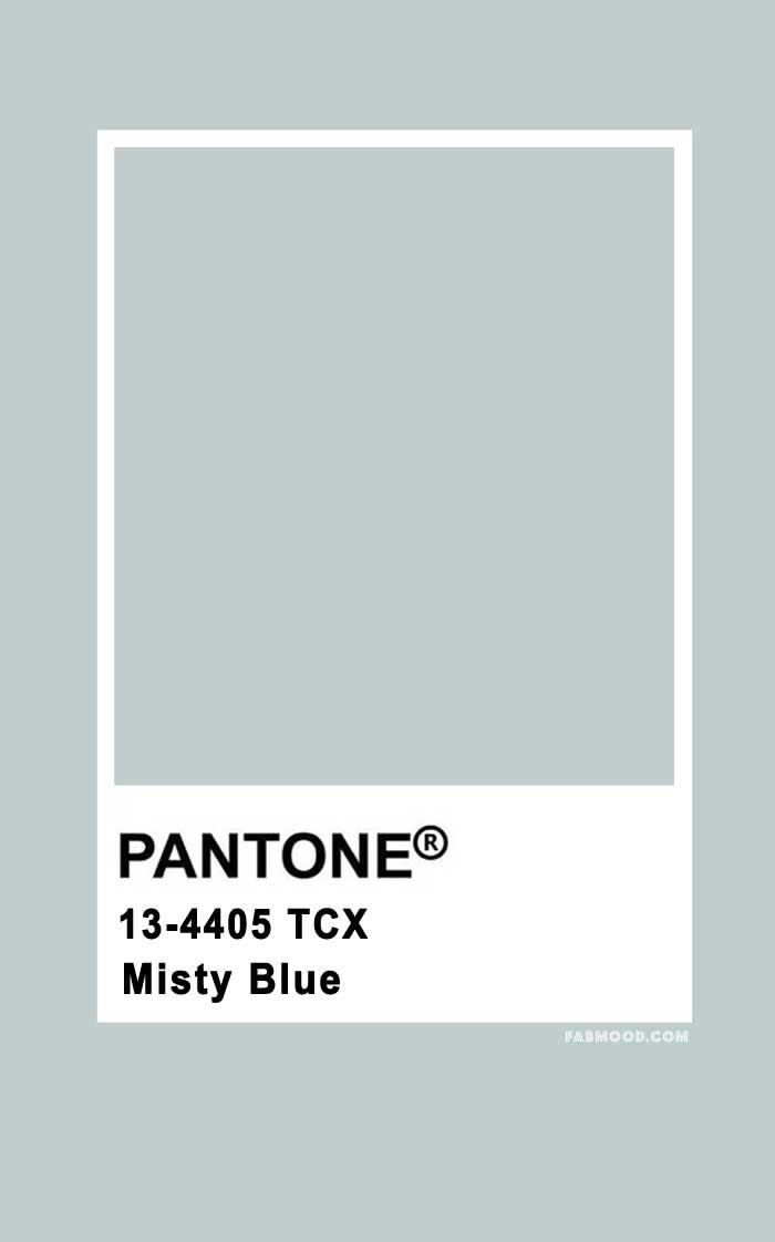 Pantone Misty Blue 13-4405