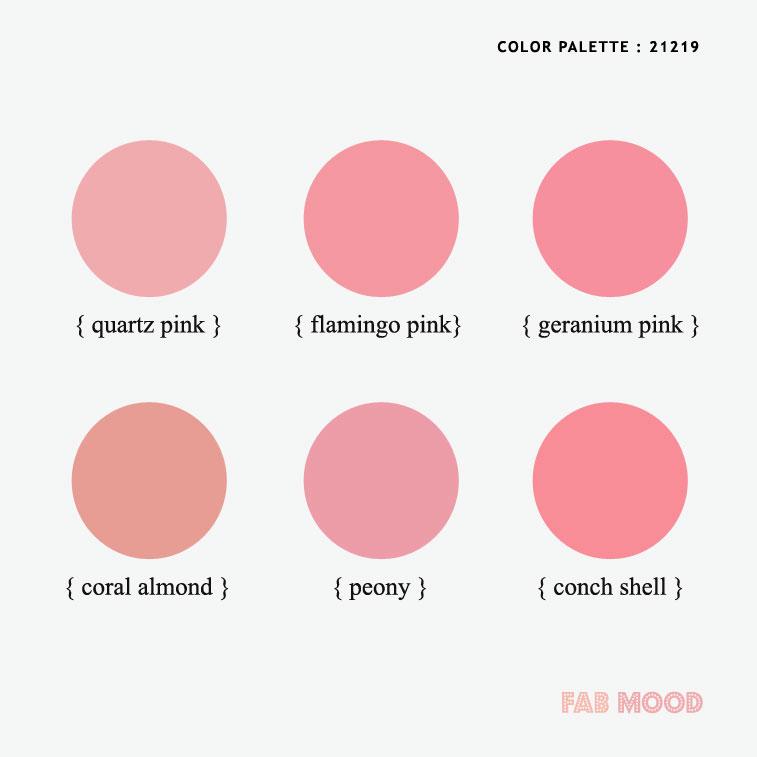 spring color palettes , spring wedding color , pink color combos, spring color #color #colorpalette #pink #peach #coral