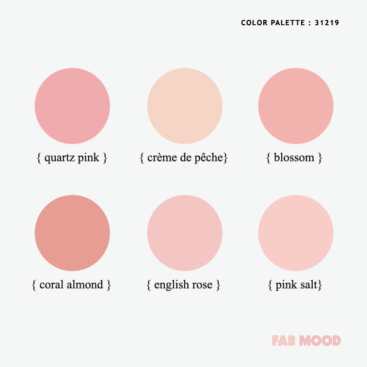 spring color palettes , spring wedding color , pink color combos, spring color #color #colorpalette #pink #peach #coral