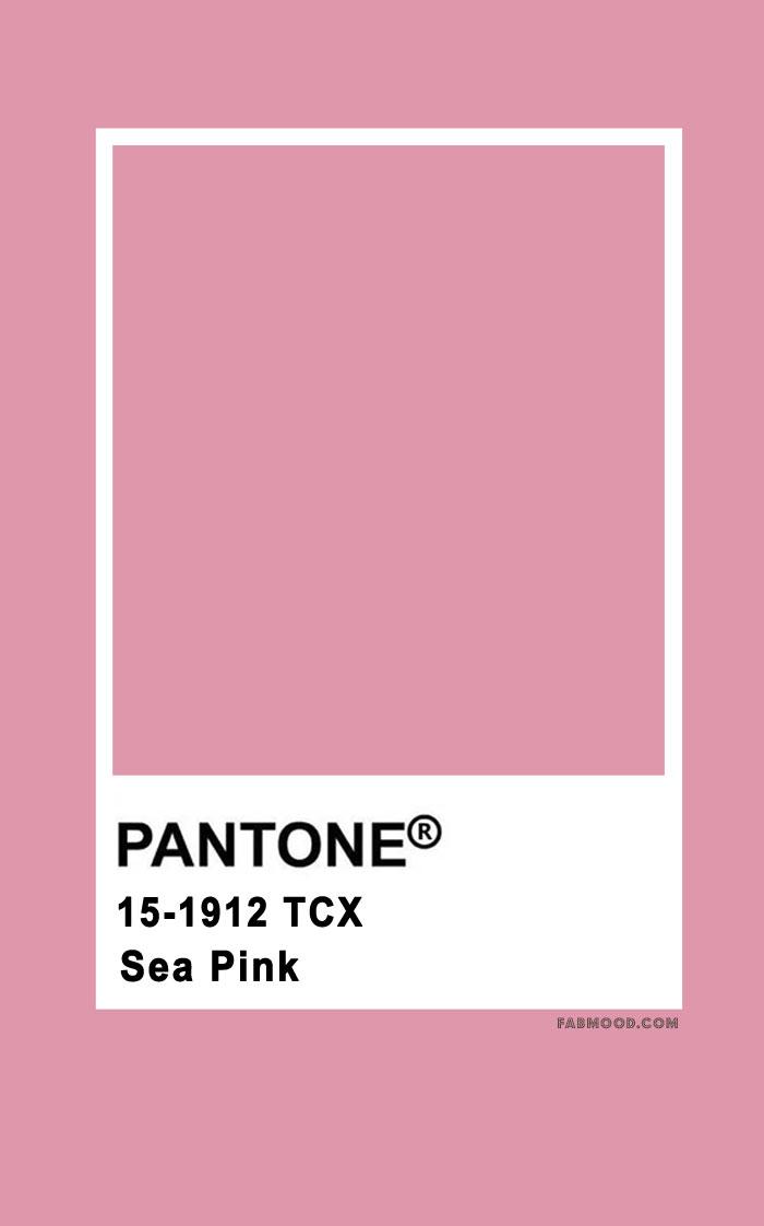 Pantone Sea Pink 15-1912
