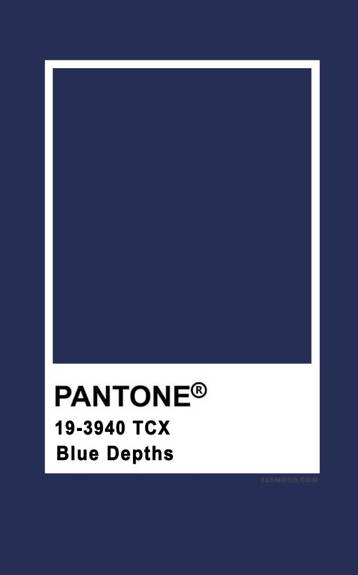 Pantone Blue Depths 13-3940
