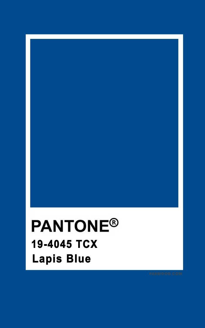 Pantone Lapis Blue 19-4045