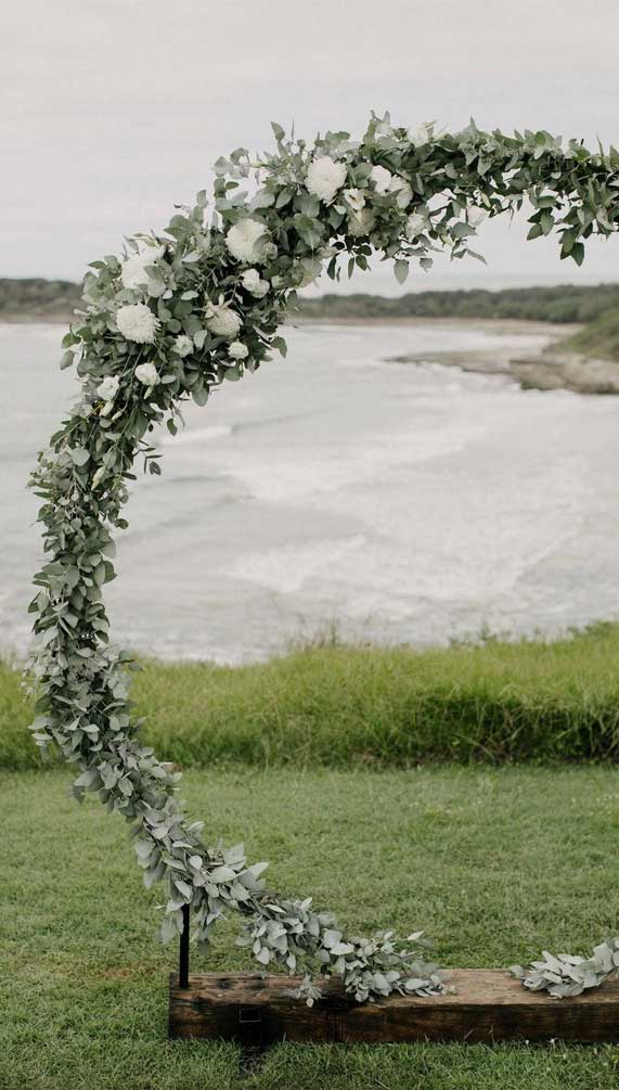 wedding arches, wedding altar decorations, wedding arch decors, wedding altar decor, wedding ceremony decoration, greenery wedding arches, greenery wedding arch decor #weddingarches #greenerywedding #weddingceremonydecor