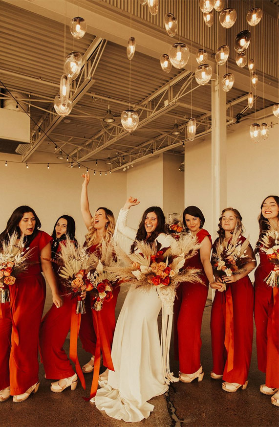best bridesmaid jumpsuits, chiffon bridesmaid jumpsuits, bride bridesmaids jumpsuits, bridesmaid jumpsuits , wedding jumpsuits 2020, wedding party jumpsuits, designer jumpsuits for weddings, best jumpsuit for bridesmaids #jumpsuits #bridesmaidjumpsuits jumpsuit outfit wedding, fall bridesmaid jumpsuits, fall bridesmaid jumpsuits