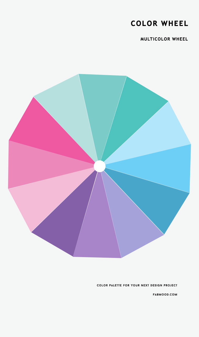 Color Wheel : 3 color wheel ideas