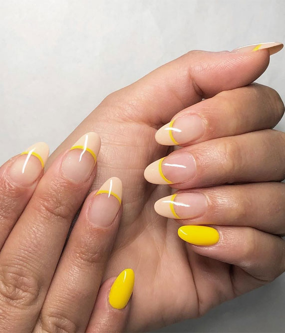 7 French Tip Nails Inspired – Spring Nail trends to wear now