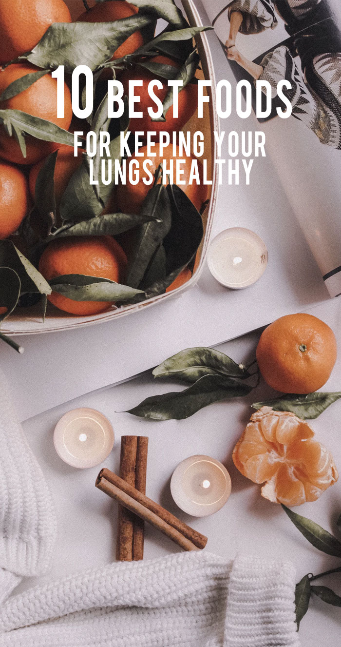 10 Best Foods For Keeping Your Lungs Healthy