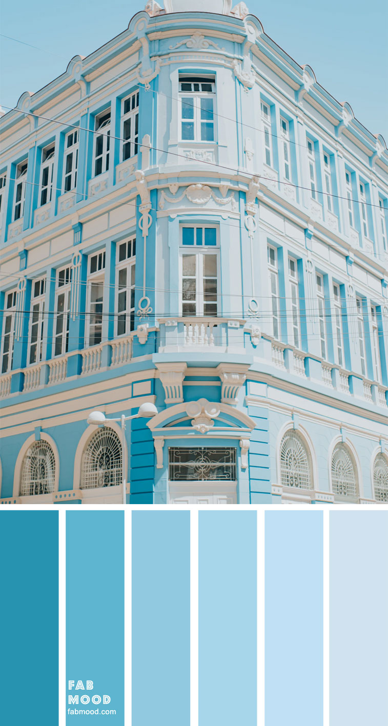 Color Inspiration – Blue and White – Color Palette #39