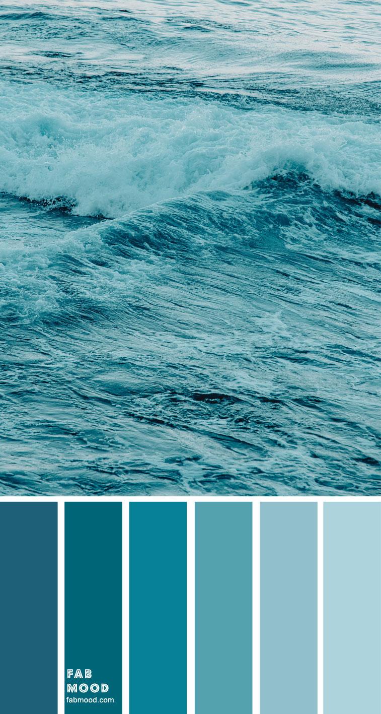 color inspiration, color palette, mood board color palette, ombre color , ombre blue #ombreblue #colorpalette #color blue and white color palette #teal green sea, teal color palette