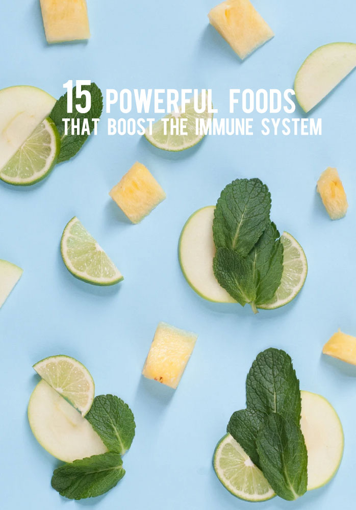 15 Powerful Foods That Boost the Immune System